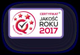Jakość roku 2017 - logo